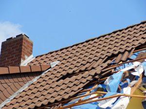 Разрушен покрив на къща