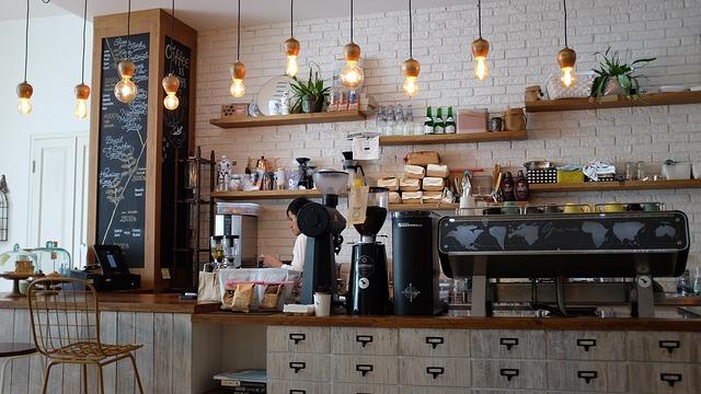 Кафене интериор